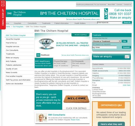 BMI The Chiltern Hospital