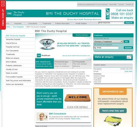 BMI The Duchy Hospital