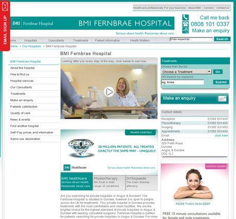 BMI Fernbrae Hospital