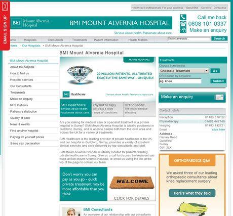 BMI Mount Alvernia Hospital