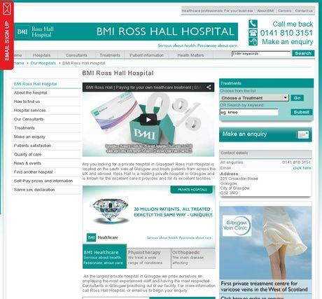 BMI Ross Hall Hospital