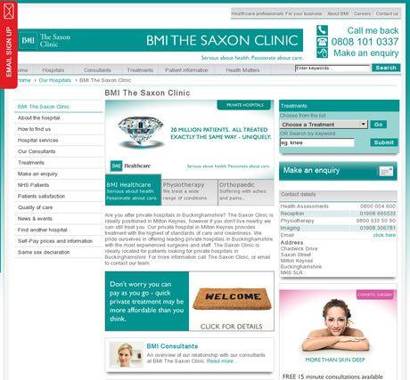 BMI The Saxon Clinic