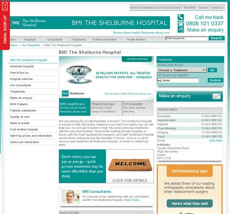 BMI The Shelburne Hospital