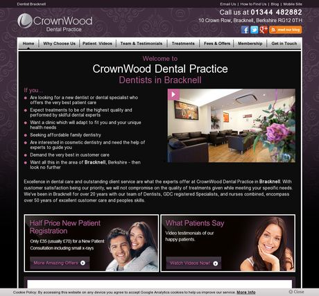 CrownWood Dental Practice